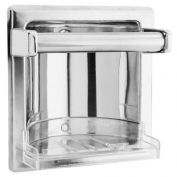 Classic Series Polish Finished Stainless Steel Built-in Soap Dish