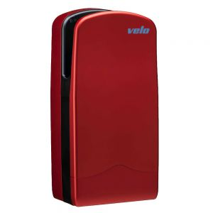 Velo Veltia V-Jet Hand Dryer - Red - 7 Year Warranty