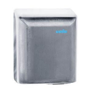 Velo Bigflow Hand Dryer - Stainless Steel - 5 Year Warranty