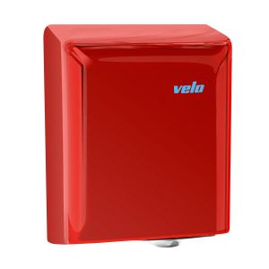 Velo Fuga Hand Dryer - ABS Plastic - Red - 5 Year Warranty
