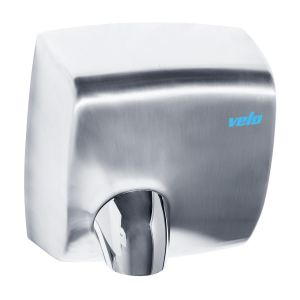 Velo Windflow Hand Dryer - Stainless Steel - 5 Year Warranty